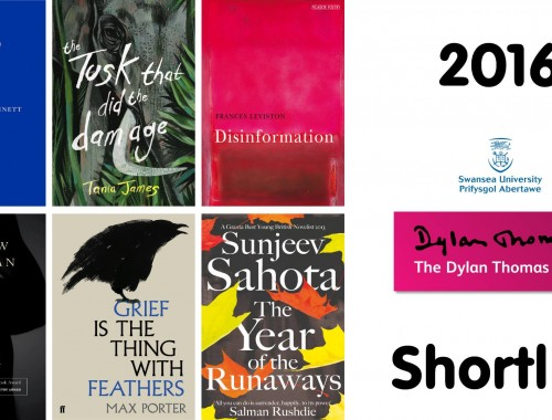 Books short-list International Dylan Thomas Prize