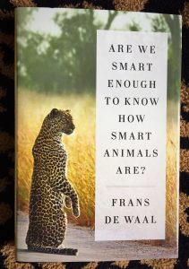 Couverture de Are We Smart Enough To Know How Smart Animals Are ? by Frans De Waal (éd. Norton)