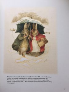 Extrait de The Story of Beatrix Potter, by Sarah Gristwood (éd. National Trust Books)