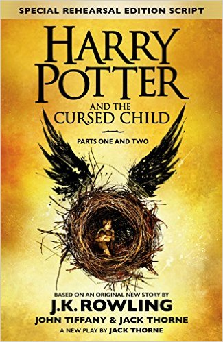 Harry Potter and the cursed child, par J. K. Rowling, Jack Thorne, John Tiffany