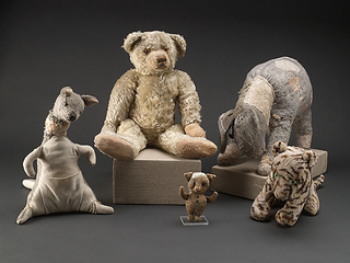 Le gang de Winnie en peluches : elles sont conservées à la New York Public Library