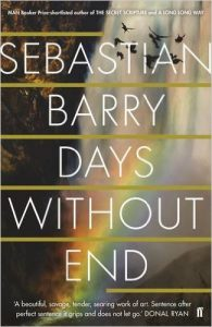 Cover de Days Without End - Sebastian Barry