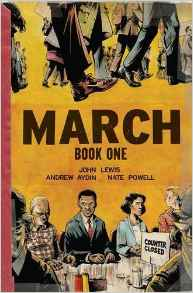 March, book One - John Lewis, Andrew Aydin, Nate Powell