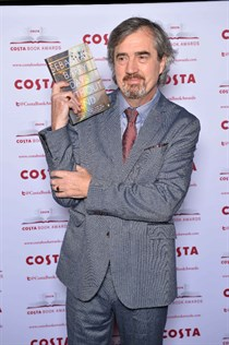 Le romancier Sebastian Barry, gagnant du Costa Book Awards 2016