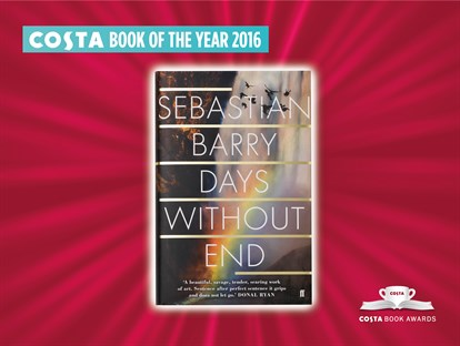 "Le livre ""Days Without End"" (éd. Faber & Faber) gagnant du Costa Book Awards"